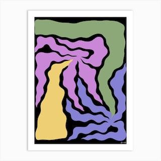 Melrose Ave 2 Art Print