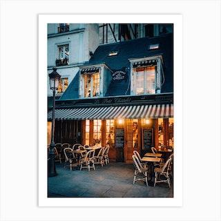 Paris Bistro Art Print