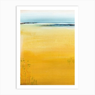 Canary Shore 2 Art Print