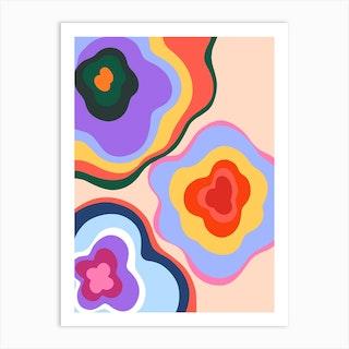 Flower Bunch Art Print