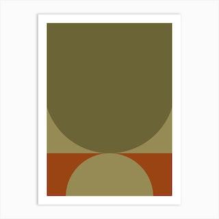 Contemporary Composition 05 Art Print