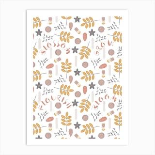 From Seeds (Pollen) Art Print