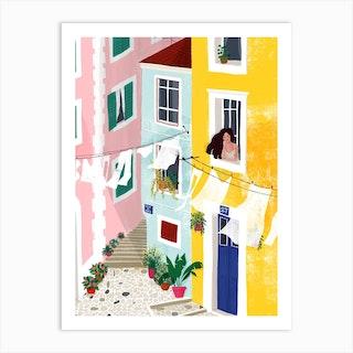 Chillin Art Print