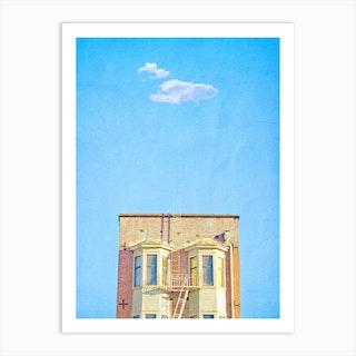 Lonely Skies San Francisco Art Print