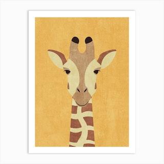 Fauna Giraffe Art Print