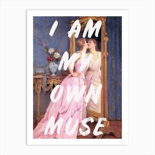 My Own Muse Ii Art Print