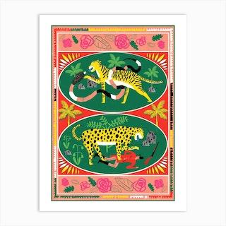 Big Cats Revenge Art Print