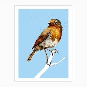 The Robin Art Print