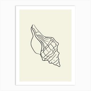Seashell 4 Art Print