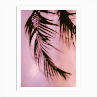 Costa Rica Pink And Purple Palm Art Print