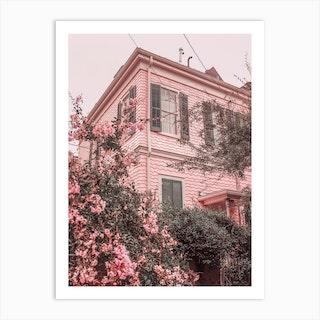 Pink Nola Art Print