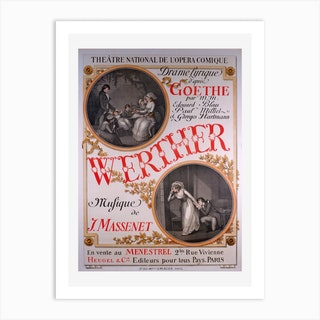 Werther Art Print