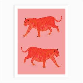 Tiger Illustration Art Print