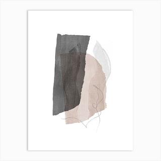 Fragments 3 Art Print