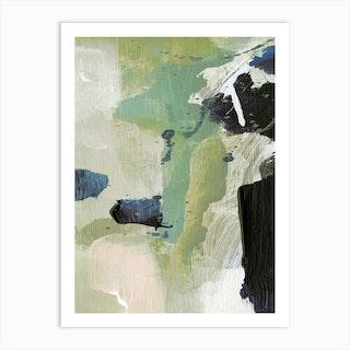 Green 2 Art Print