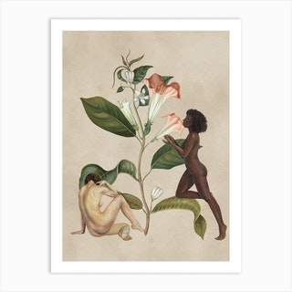 We Are Nature Art Print