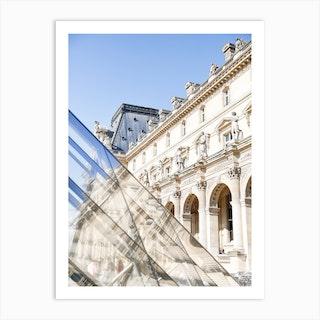 Le Louvre Paris Art Print