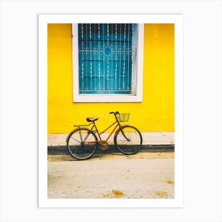 A Bicycle Of Cuba Art Print