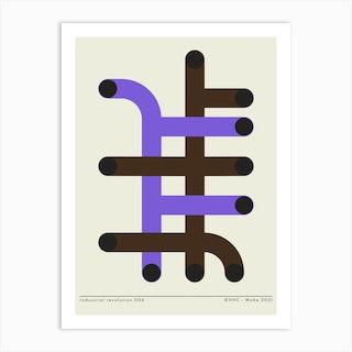 Industrial 4 Art Print