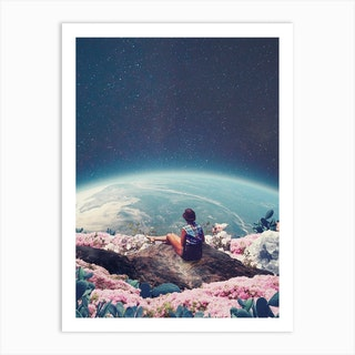 My World Blossomed When I Loved You Art Print