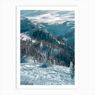 On Top Of The Mountain Ii Art Print