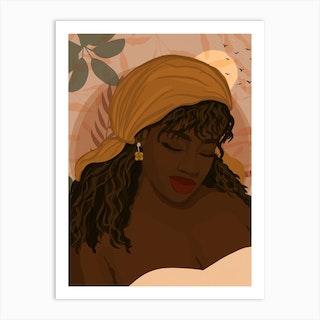 Sereno Art Print