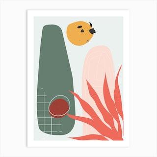 Trouble Sleep 7 Art Print