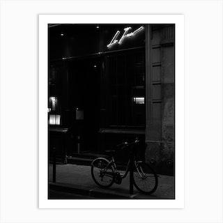 Noir Paris IV Art Print