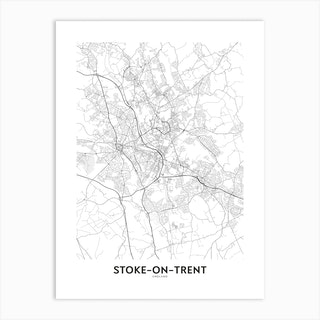 Stoke On Trent Art Print