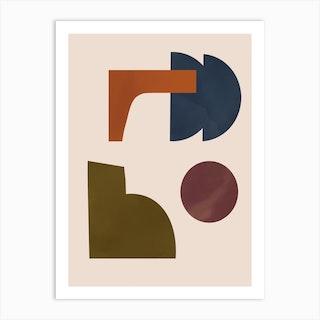 Micro Shapes 4 Art Print