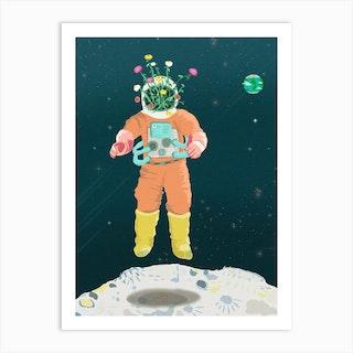 Moonlanding Art Print