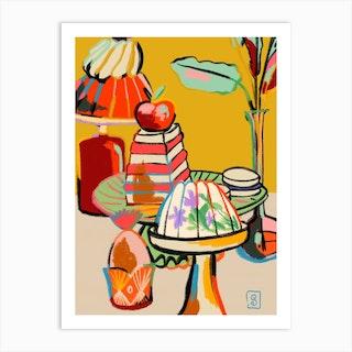 Sweet Tooth Art Print