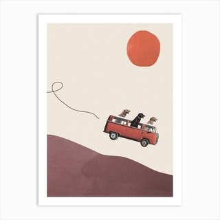 Adventure Gang Art Print