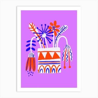 Riso Vase Art Print