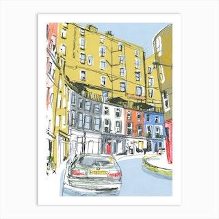 Edinburgh Victoria Street Art Print