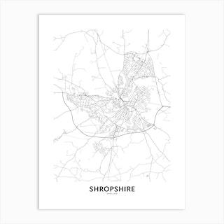 Shropshire Art Print