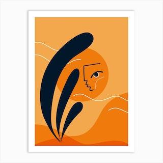 Sun Shy Art Print