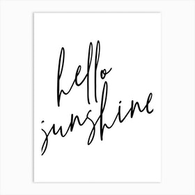 Hello Sunshine Art Print