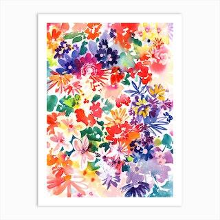 Garden In Bloom Art Print