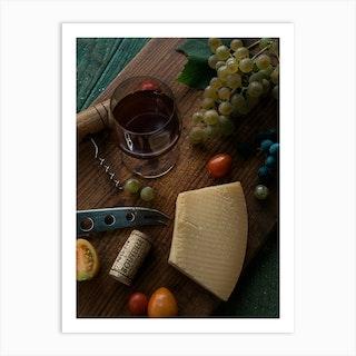 Chateu Wine Art Print