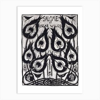 Salome cover design, Aubrey Beardsley Art Print