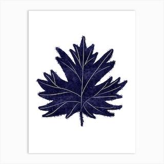 Mono Maple Art Print