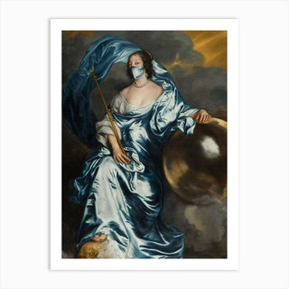 Countess Rachel De Ruvigny Of Southampton Art Print
