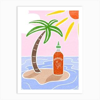Sriracha Art Print