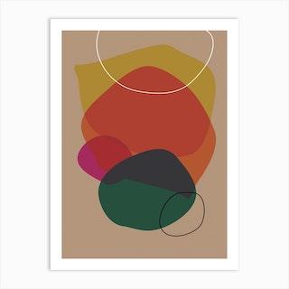 Shape06 Art Print