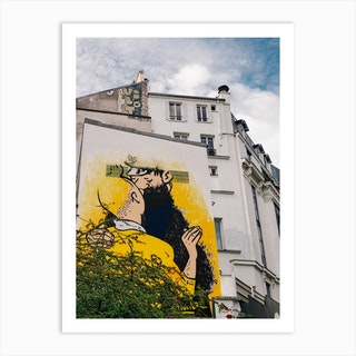 Paris Street Art Art Print