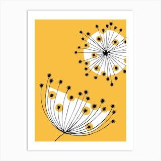 Dandelion Mobile Art Print