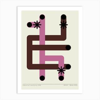 Industrial 2 Art Print