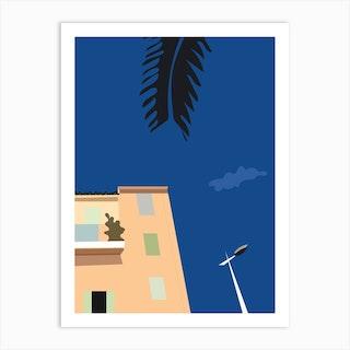 Cloud Artwork Art Print