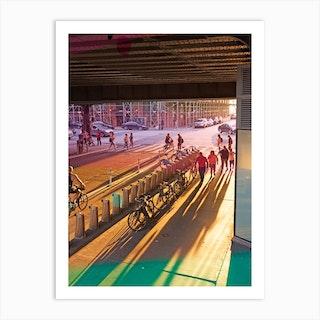 New York West Side Art Print